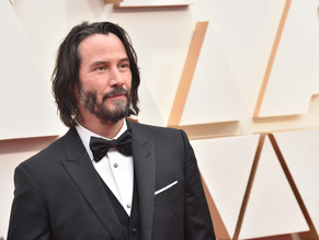 The John Wick actor recreates the look from the film 'The Matrix'!