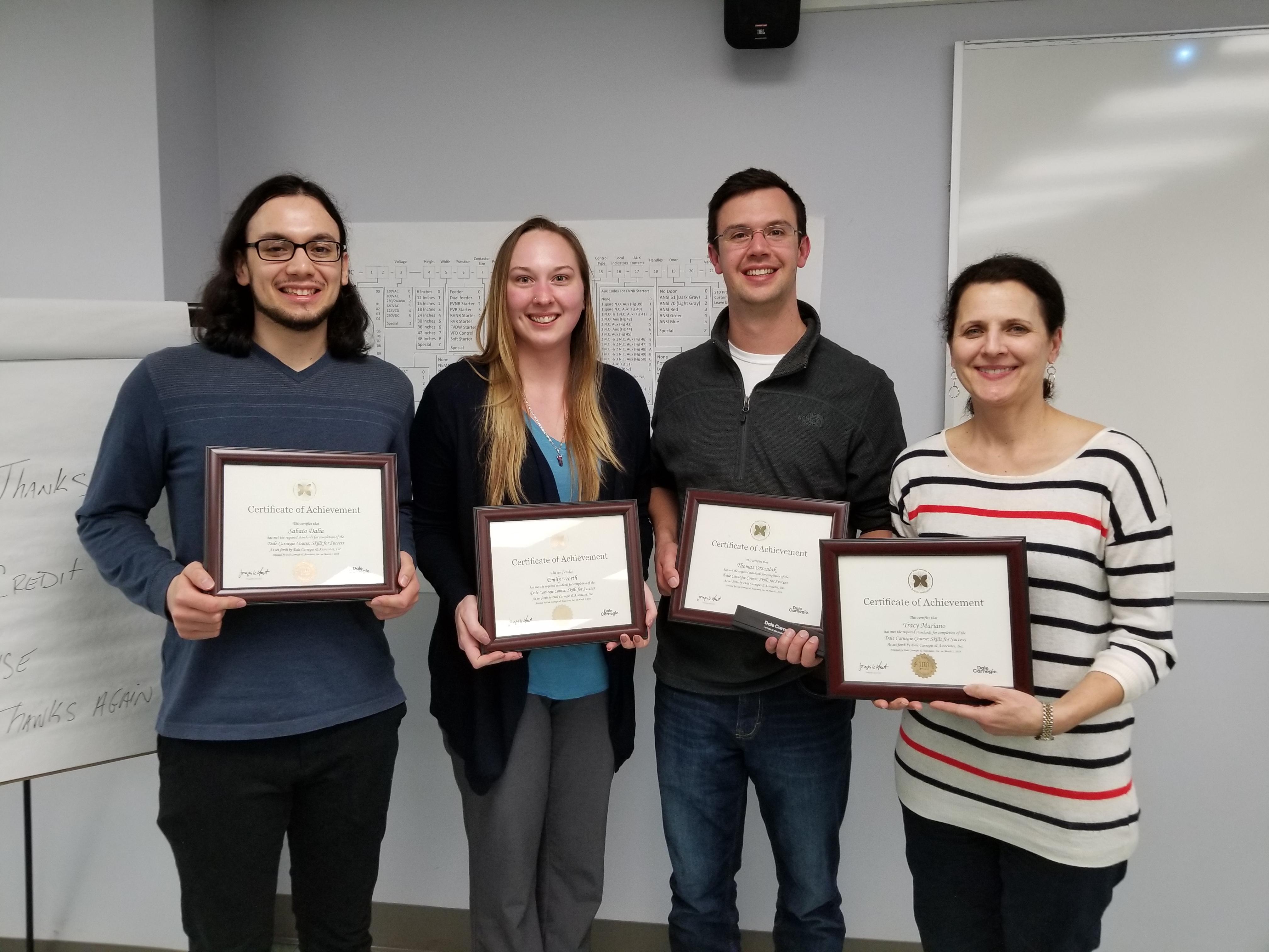 Newsflash Week 2018.02.26 Dale Carnegie Grads