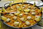 Real valencian Paella