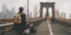 Traversée Brooklyn Bridge