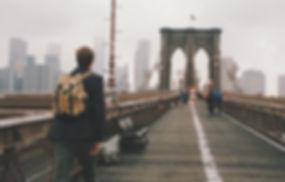 Cruzamento da ponte de Brooklyn
