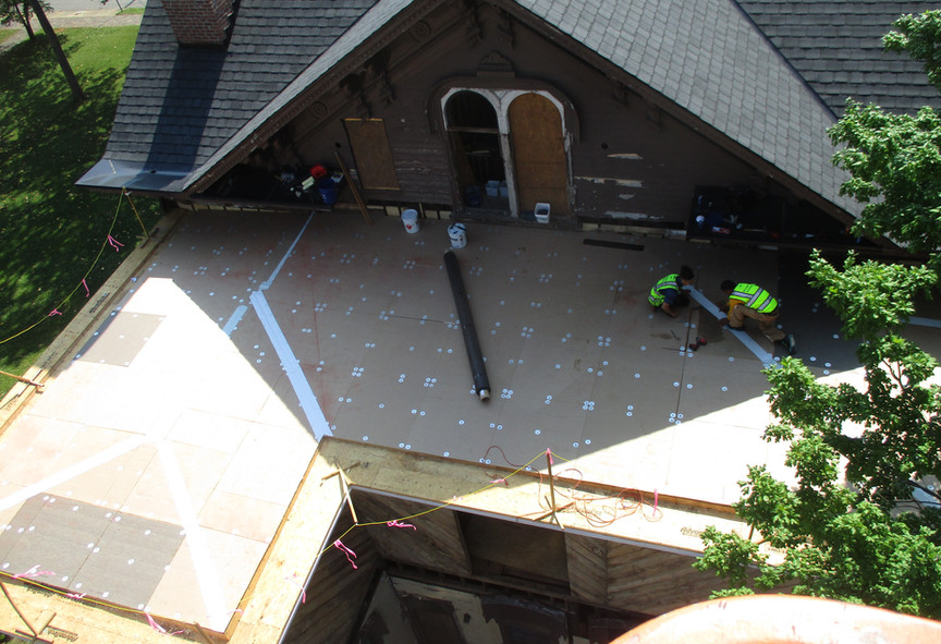 This is an 1870 Historical Renovation we are working on in Ralegh's Historical Oakwood Division.
