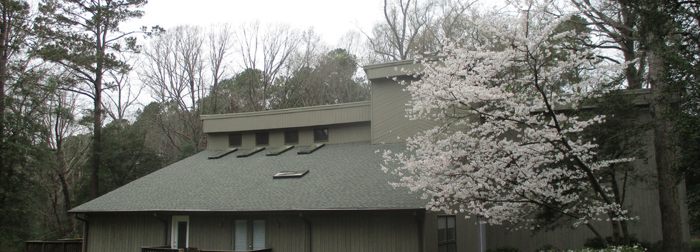 Home roof restoration in North Raleigh, NC
