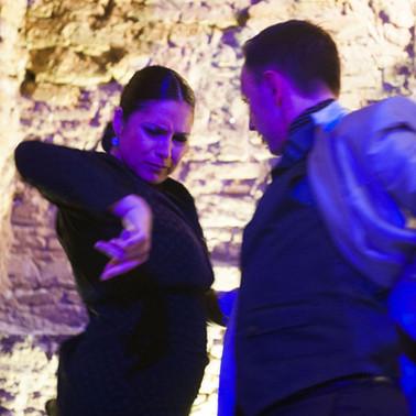 Manuela Morales y Manuel Serena