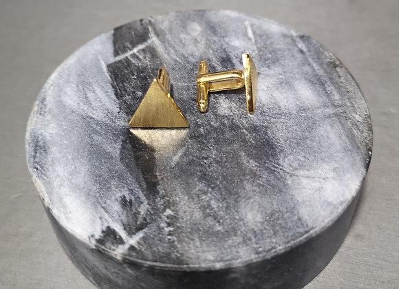 Gemelos triangulo satinado