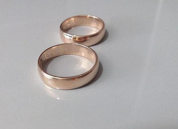 Aros de matrimonio basicos