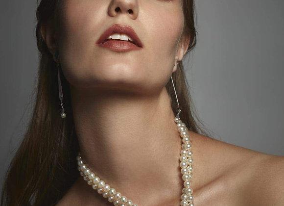 Collar perlas japonesas high quality