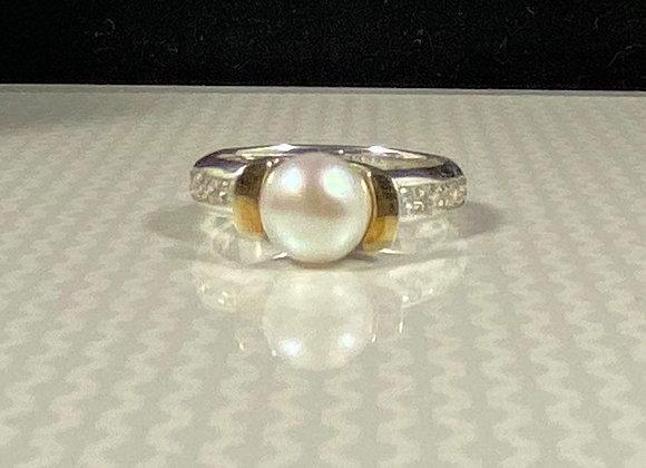 Anillo  perla classic
