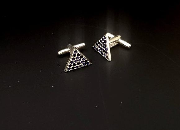 Gemelos triangulares con swarovski