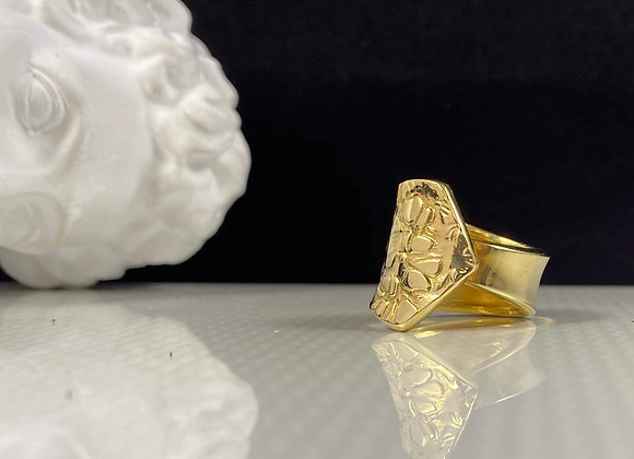 Anillo Cocó classic regulable enchapado en oro