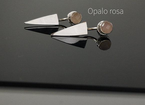 Arete opalo rosa special