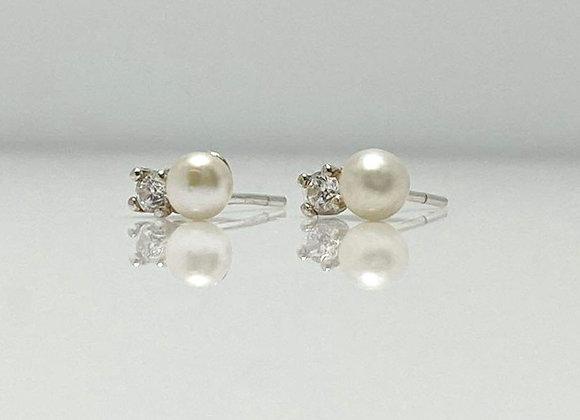 Arete fantasy  perla - circonia
