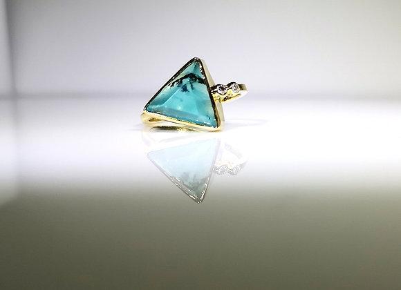 Anillo mar azul