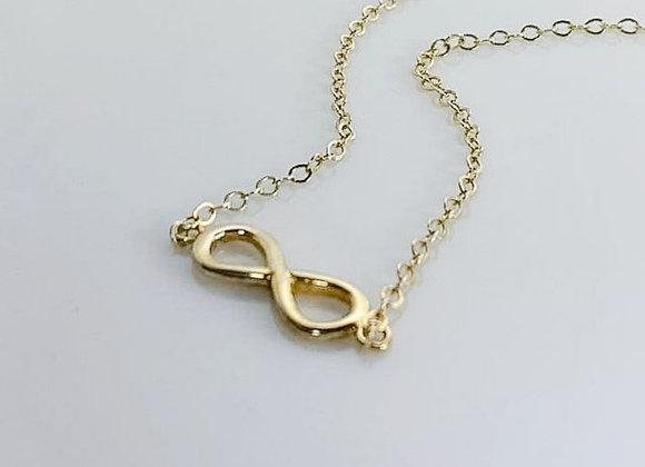 Collar infinity silver