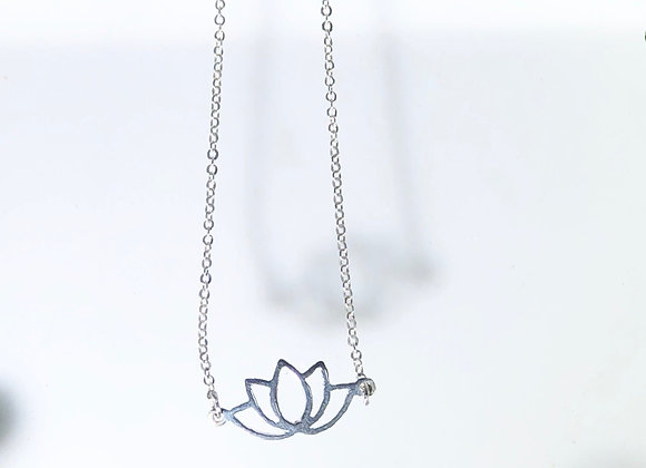 Collar flor de loto maxi