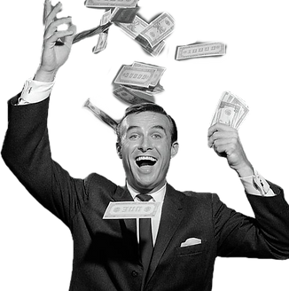 1960s-happy-man-throwing-money-currency-