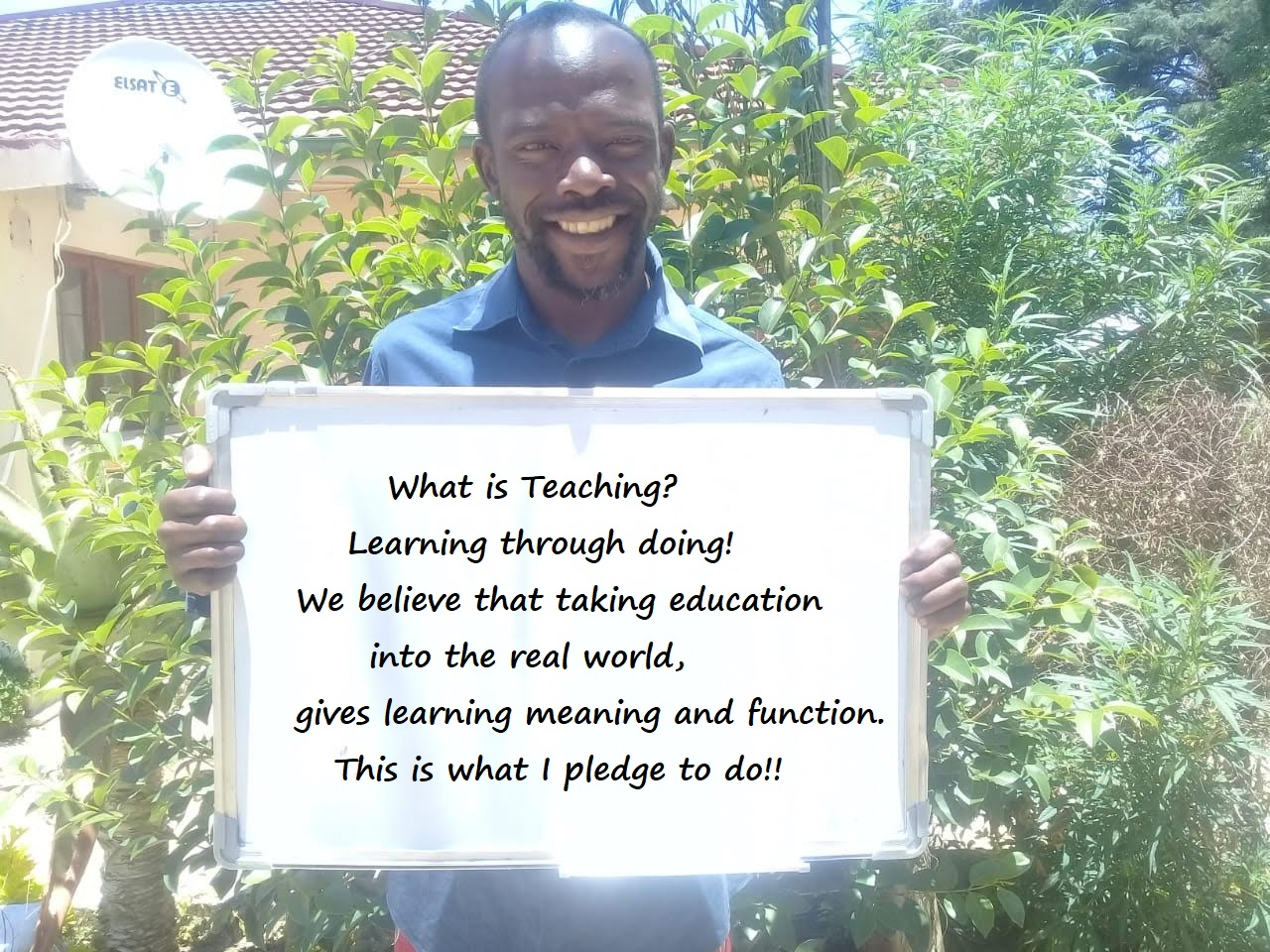 Reuben Xaba, Drama-in-Education Facilita