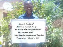 Reuben Xaba, Drama-in-Education Facilita