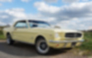 Mustang chauffeured wedding car in Suffolk and North Essex