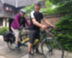 Cycling at Clay Hall House Sudbury B&B