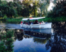 River Stour boating, near Clay Hall House, Sudbury B&B