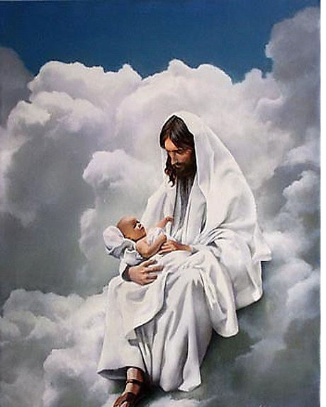 JESUS WITH CHILD 30 - Catholic picture -