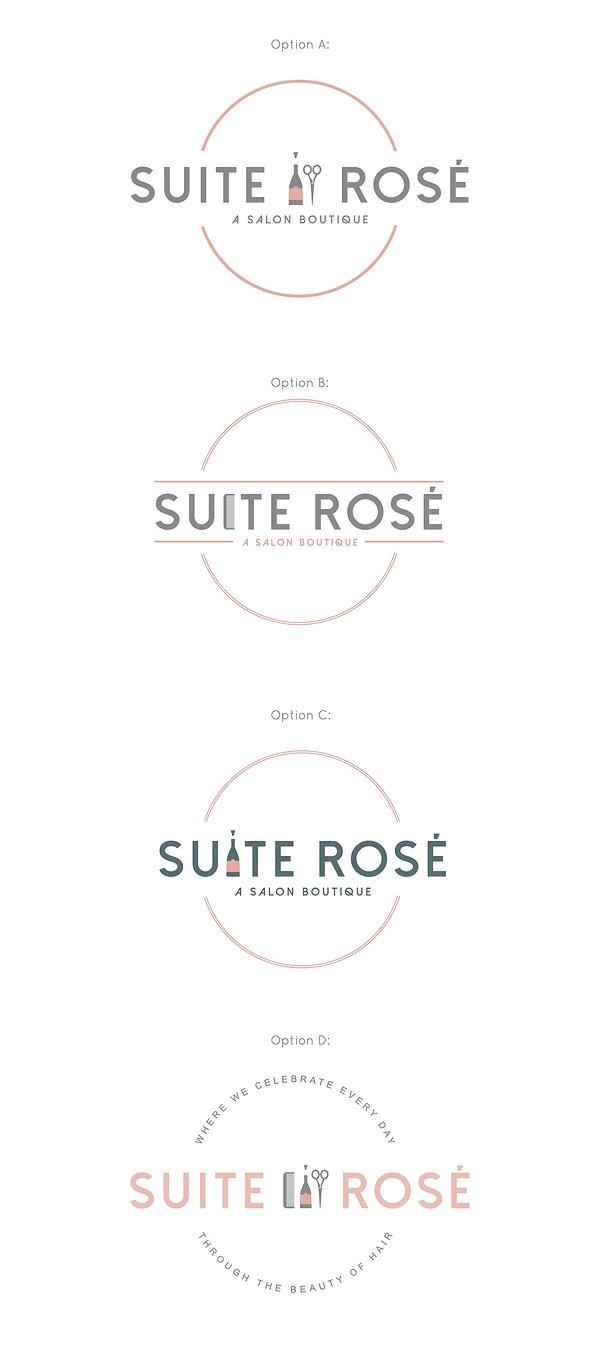 SUITE ROSE x K. RENE LOGO DEVELOPMENT 2.