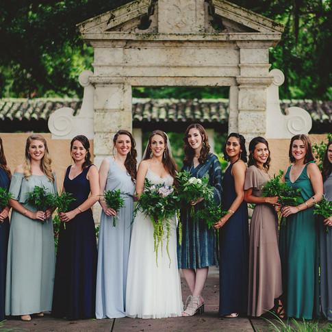 WARDROBE STYLING | WEDDING PARTY ATTIRE, ACCESSORIES + FLORALS