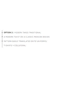 Option 2 | Modern Takes Traditional