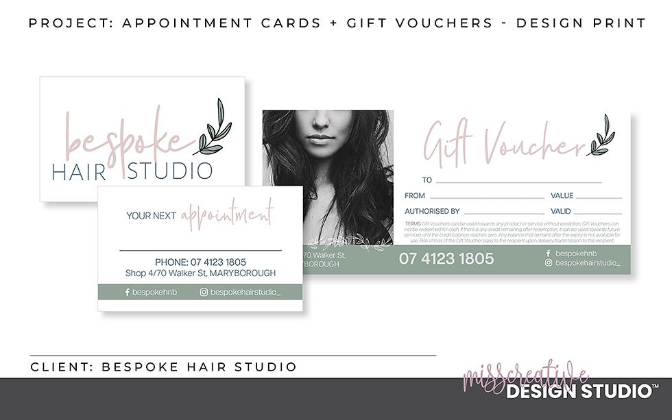 Brand Stationery, Business Cards, Name Badges, Notebook, Publications, MissCreative Design Studio Portfolio