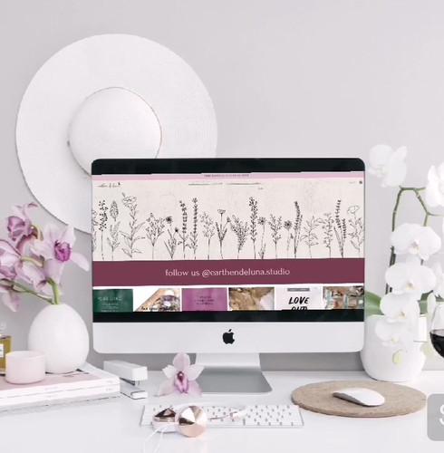 Earthen de Luna Website
