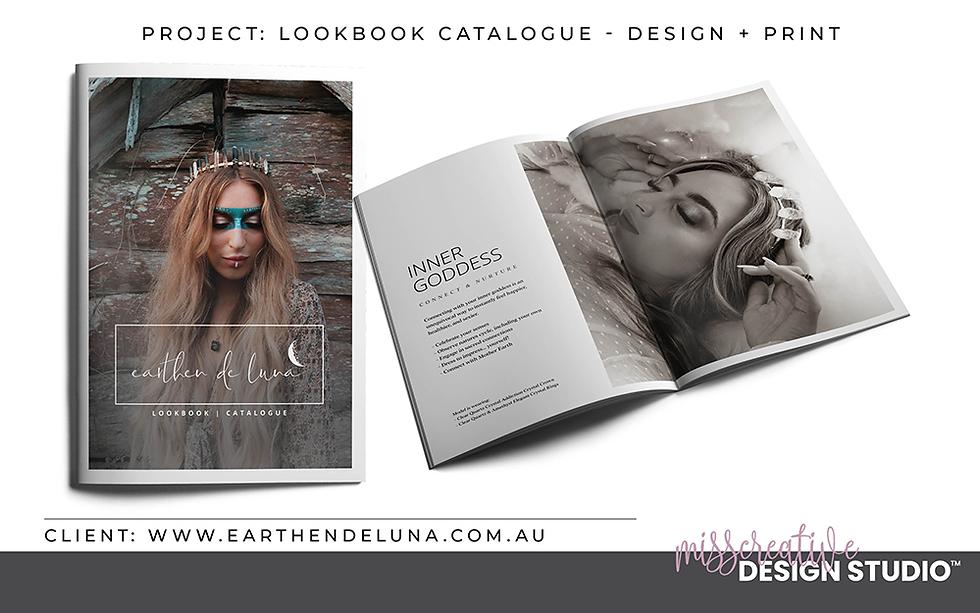 Brand Magazine Design, Catalogue, Graphic Design, MissCreative Design Studio Portfolio