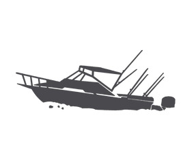 Blue Sky Boat Hire Icon Logo