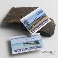 Blue Sky Boat Hire's Business Card