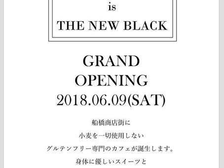 GLUTEN FREE is THE NEW BLACK will Open 2018.6.9 (sat)