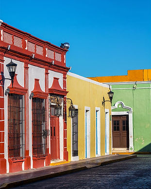 brightly-colored-colonial-buildings-Cast
