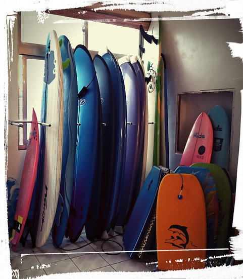 SoftTop Surfboard Rental 租借軟式衝浪板