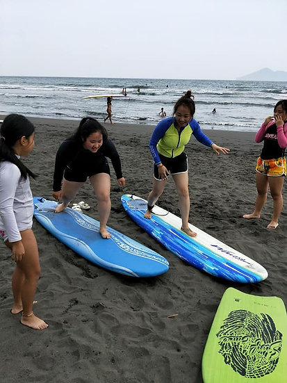 First-level surf Lesson 初階衝浪課程