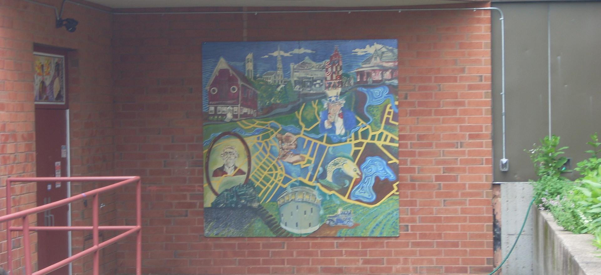 41 Foster St mural