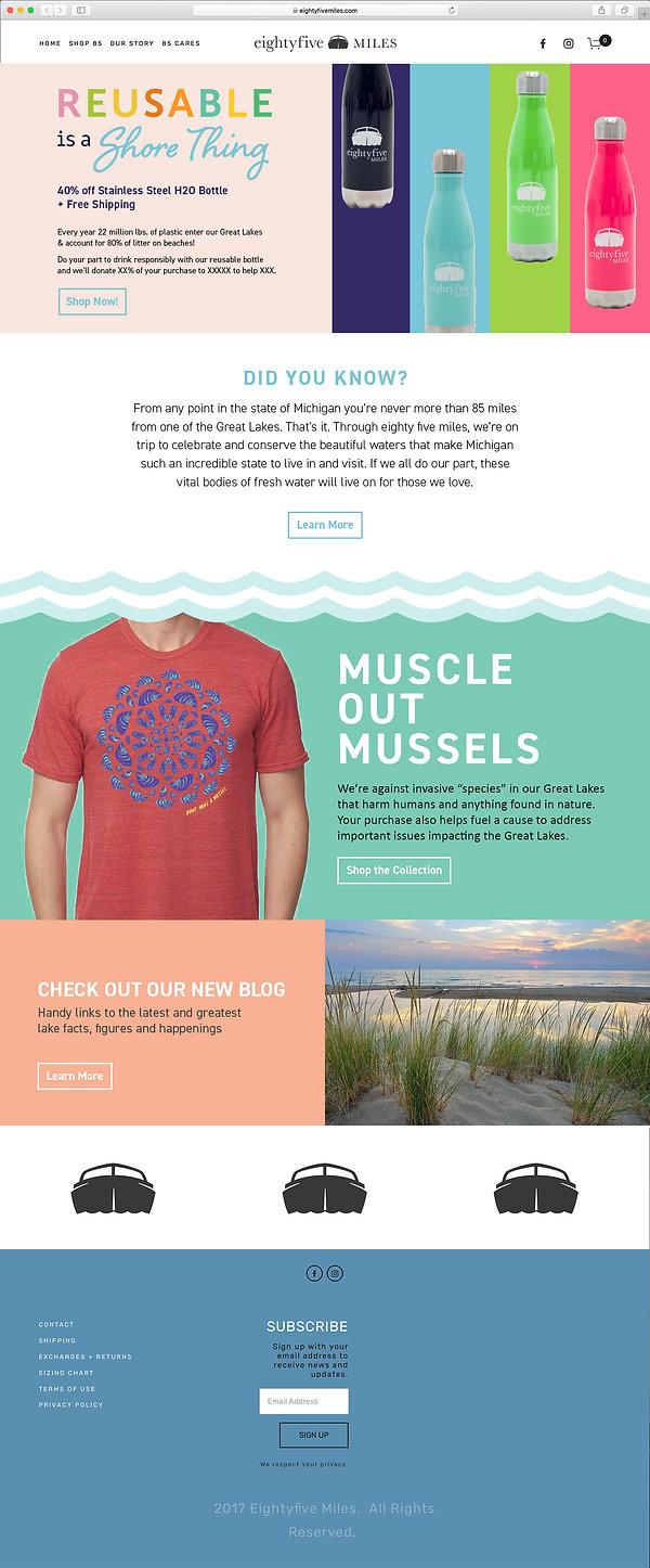 Website design retail
