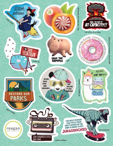 RMD Sticker Sheet 4