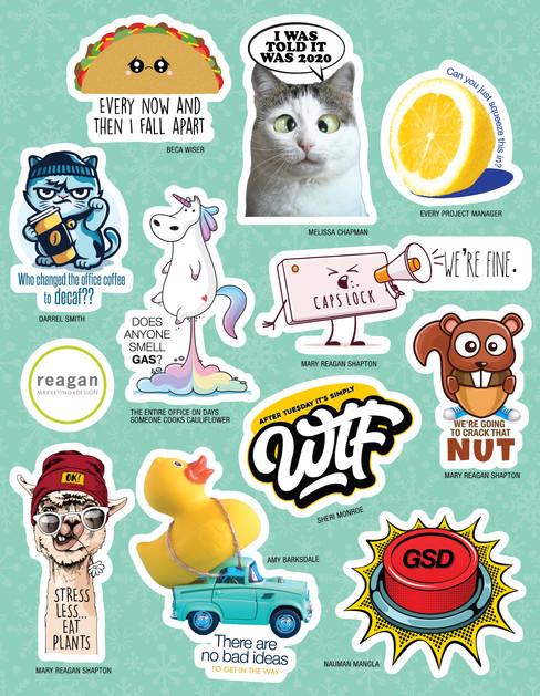 RMD Sticker Sheet 1