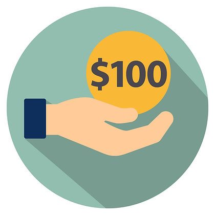 Donation: $100