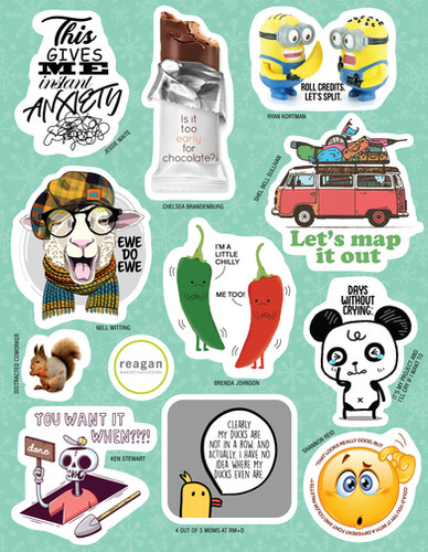 RMD Sticker Sheet 3