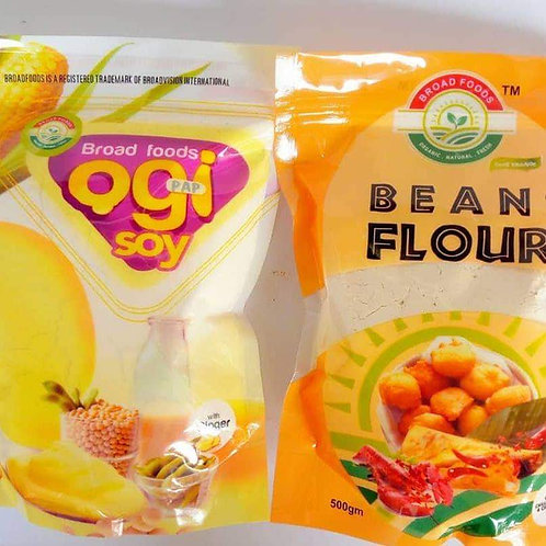 Ogi and Bean Flour