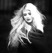 woman long hair extensions jpg