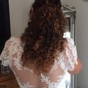 krullen bruid