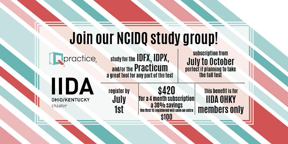 IIDA Ohio Kentucky Qpractice Team Registration - Fall 2021