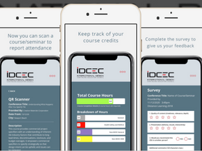 The Easiest Way to Keep Track of your IDCEC Credits: The New App!