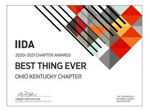 IIDA Ohio Kentucky 2020-2021 Chapter Award Winner!